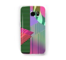 Just Can't Get Enough Eighties Retro Patterns Samsung Galaxy Case/Skin