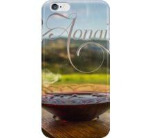 Aonair Wine Glass iPhone Case/Skin