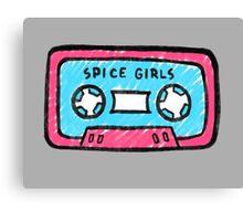 Spice Girls Cassette Canvas Print