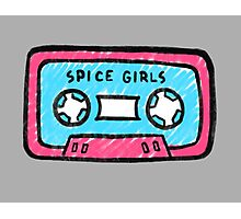 Spice Girls Cassette Photographic Print