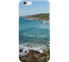 Coolum Beach is so beautiful iPhone Case/Skin