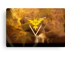 Pokemon Go - Team Instinct  Canvas Print