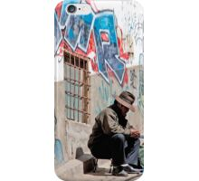Thinking It Over iPhone Case/Skin