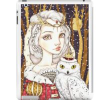 Winter Bride iPad Case/Skin