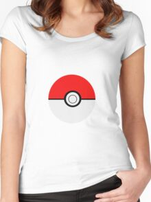 Pokemon Ball Women's Fitted Scoop T-Shirt