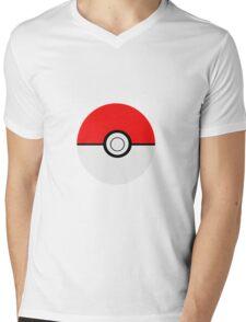 Pokemon Ball Mens V-Neck T-Shirt