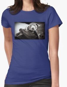 """OUR SILVER LAB """"GRACIE"""" Womens Fitted T-Shirt"""