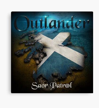 Outlander Maps Canvas Print