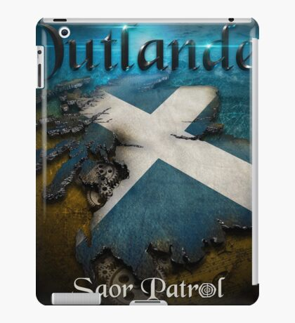 Outlander Maps iPad Case/Skin