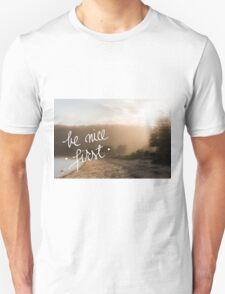 Be Nice First Unisex T-Shirt