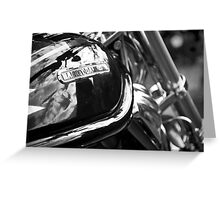 Harley Badge Greeting Card