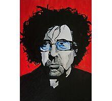Tim Burton acrylic on Canvas Photographic Print