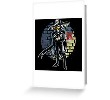 Dangerous Is His Vengeance! Greeting Card