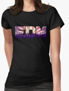 EDM! Womens Fitted T-Shirt