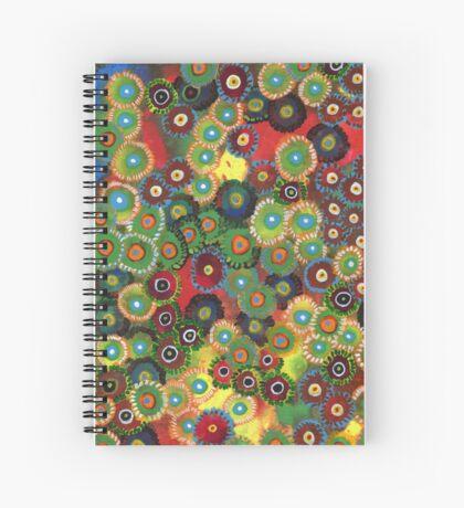 Zoanthid Spiral Notebook