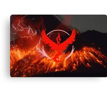 Pokemon Go - Team Valor Canvas Print