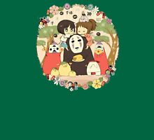 collage ghibli familly Unisex T-Shirt