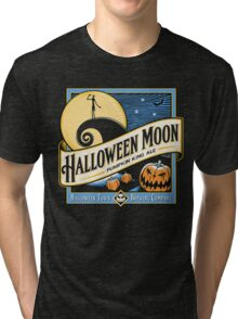 HALLOWEEN MOON PUMPKIN KING ALE Tri-blend T-Shirt