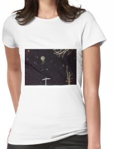 Orb Reporting Photograph #21 Womens Fitted T-Shirt