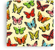 Butterfly Design Canvas Print