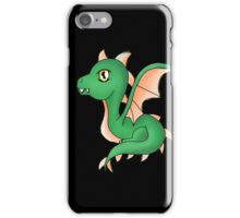 Cute Little Dragon Baby iPhone Case/Skin