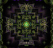 Divine Yantra by Hakan Hisim