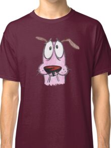 cut sketch courage dog Classic T-Shirt