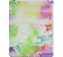 Abstract Painting Watercolor Splatter Pattern iPad Case/Skin