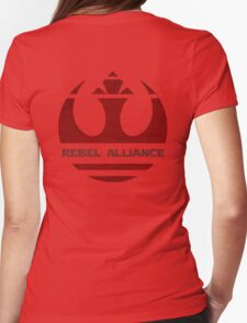 rebel alliance Symbol Womens Fitted T-Shirt