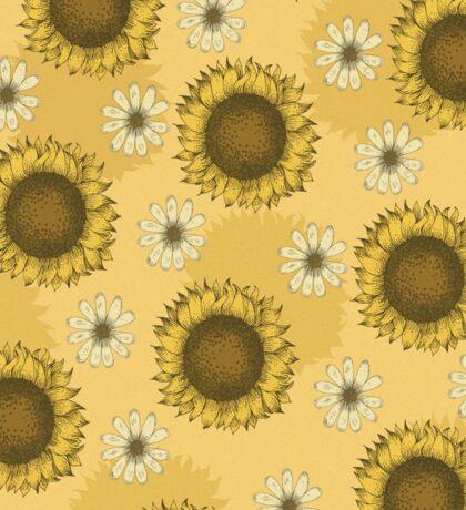 Sunflower Pattern Sticker