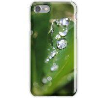 A stream of water drops  iPhone Case/Skin