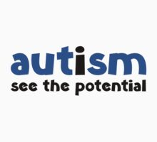 Autism See The Potential Baby Tee