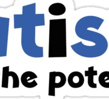 Autism See The Potential Sticker