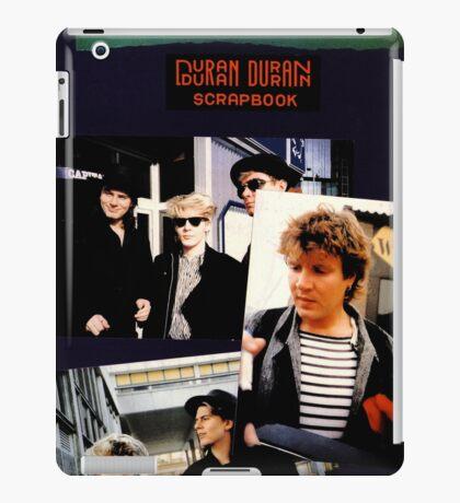 Scrapbook Duran Duran iPad Case/Skin
