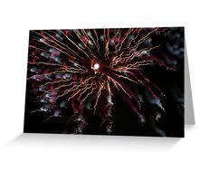 fireworks 24/10/15 Greeting Card