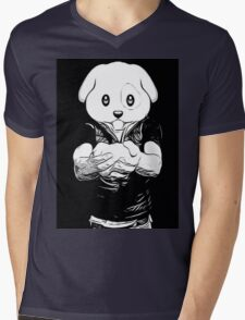 Dog Boy Mens V-Neck T-Shirt