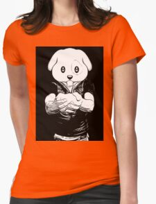 Dog Boy Womens Fitted T-Shirt