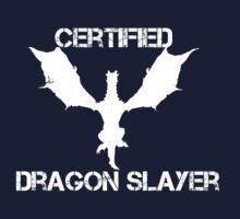 Certified Dragon Slayer Baby Tee