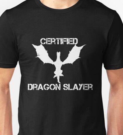 Certified Dragon Slayer Unisex T-Shirt