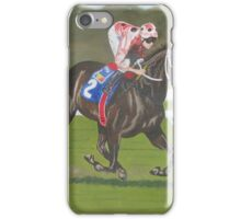 Black Caviar wins the Blue Sapphire Stakes at Caulfield iPhone Case/Skin