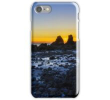 Sunset Through The Rocks iPhone Case/Skin