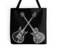 Electric Guitar under x-ray  Tote Bag