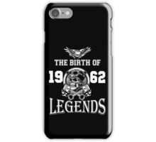 1962-THE BIRTH OF LEGENDS iPhone Case/Skin