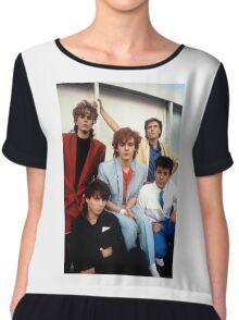 Vintage Duran Duran V Chiffon Top