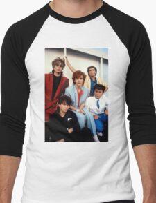 Vintage Duran Duran V Men's Baseball ¾ T-Shirt