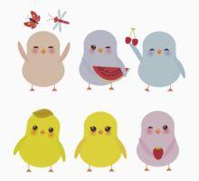 Happy Chicks Kids Tee