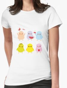 Happy Chicks Womens Fitted T-Shirt