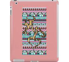 Deer Head Heart Aztec iPad Case/Skin