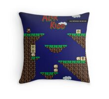 Alex Kidd in Miracle World Throw Pillow