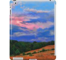 colorful countryside iPad Case/Skin